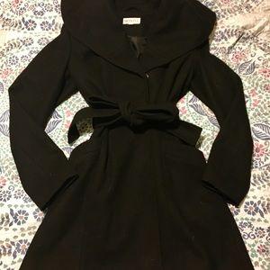 Black Merona Pea Coat